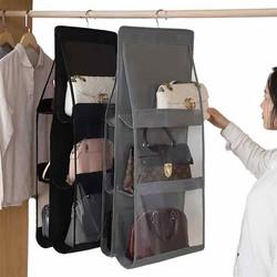 Giá để túi xách 6 ngăn có móc treo