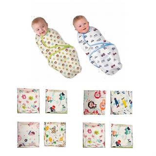 Chăn ủ quấn vải sơ sinh cotton mềm, mịn, mát cho bé - Màu sắc & họa tiết ngẫu nhiên [ĐƯỢC KIỂM HÀNG] 22507504 - 22507504 thumbnail