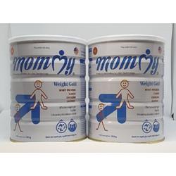 combo 2lon Sữa tăng cân mommy weight 900g nhân 2 lon