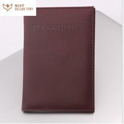 Túi bao da đựng giấy tờ passport 2020