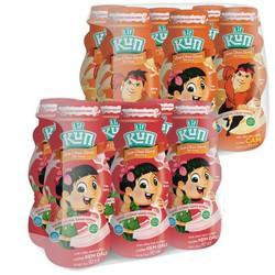 Thùng 24 chai sữa chua uống tiệt trùng KUN 90ml thanh mát [Công nghệ Nhật bản]