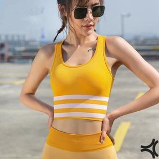 [ NHẬP MÃ 7OWYAT58 GIẢM 10K ] - Bra gym Yoga Nữ form croptop - Thấm hút mồ hôi - 10005 thumbnail