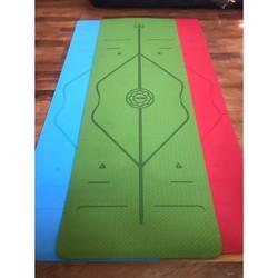 Thảm Tập Yoga Tpe Ca Cao 1 Lớp Dày 8Mm 1M83X63Cm Thảm Tập Yoga Cao Cấp An Viên