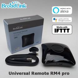 Trung tâm điều khiển từ xa Broadlink RM4 PRO phiên bản quốc tế Universal Remote IR RF