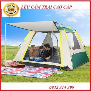Lều tự bung 4 người 2,1mx2,1m - lệ cắm trại., thumbnail