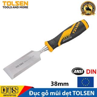 Đục gỗ mũi dẹt cầm tay chuẩn công nghiệp TOLSEN 38mm (1-1 2 inch) - Tiêu chuẩn xuất khẩu Châu Âu - 25075 thumbnail