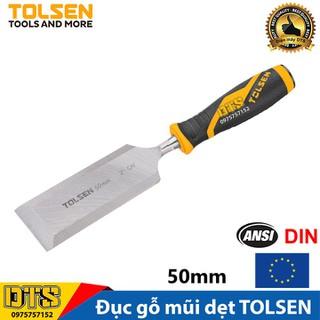 Đục gỗ mũi dẹt cầm tay chuẩn công nghiệp TOLSEN 50mm (2 inch) - Tiêu chuẩn xuất khẩu Châu Âu - 25079 thumbnail