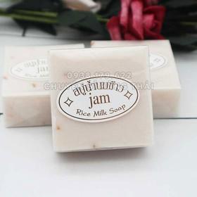 Xà phòng cám gạo thái lan Jam Rice Milk Soap 60g - [FREESHIP]