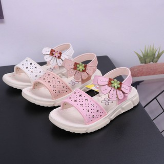 sandal bé gái size 21-30 họa tiết xẻ quạt