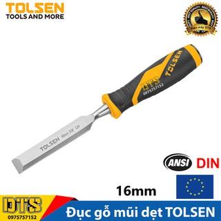 Đục gỗ mũi dẹt cầm tay chuẩn công nghiệp TOLSEN 16mm (5 8 inch) - Tiêu chuẩn xuất khẩu Châu Âu - 25065 thumbnail