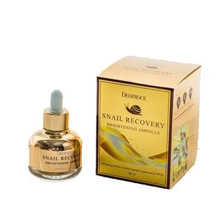 Tinh chất Dưỡng trắng da Chiết xuất Ốc sên DEOPROCE Snail Recovery Brightening Ampoule - DEO00002 thumbnail