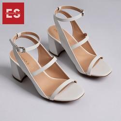 Giày Nữ, Giày Cao Gót Block Heels Thời Trang Erosska Đế Vuông Dây Mảnh Cao 7cm GEB013