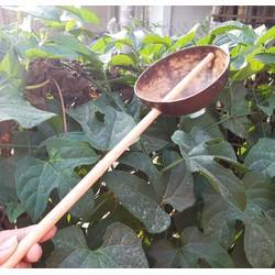 Gáo dừa múc bột tráng bánh cuốn gáo dừa 2 cái YESCOCO XƯỞNG SX