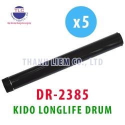 [BỘ 5 CÁI] Trống máy in KIDO 2385 [TUỔI THỌ CAO] dùng cho máy in Brother HL-L2300D- L2320D- L2360DW- L2380DW- L2321D- L2361DW- L2366DW- DCP-L2520DW- L2540DW- MFC-L2700DW- L2701DW- L2702DW- L2740DW- Xerox P225d- P265dw- M225dw- M225z- M265z