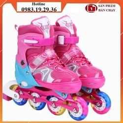 (Tặng kèm bảo hộ) Giày patin giày patin 8 bánh phát sáng