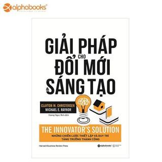 Sách alphabooks - Giải pháp cho đổi mới và sáng tạo - 8935251411676 thumbnail
