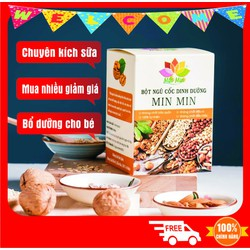 Ngũ cốc lợi sữa Min Min - CHÍNH HÃNG - ĐANG GIẢM GIÁ