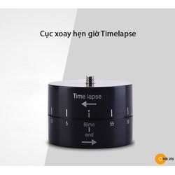 Cục xoay hẹn giờ Timelapse cho Gopro, Osmo Action, Osmo Pocket
