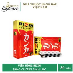 Viên Uống RIZIN (Nhật Bản) - Giúp Bồi Bổ Sức Khỏe