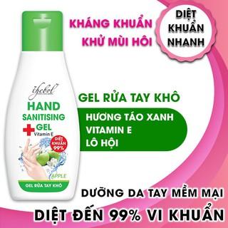 Combo 2 chai nước rửa tay khô diệt khuẩn hương táo xanh Thebol 100ml - RT001_1_1_2 thumbnail