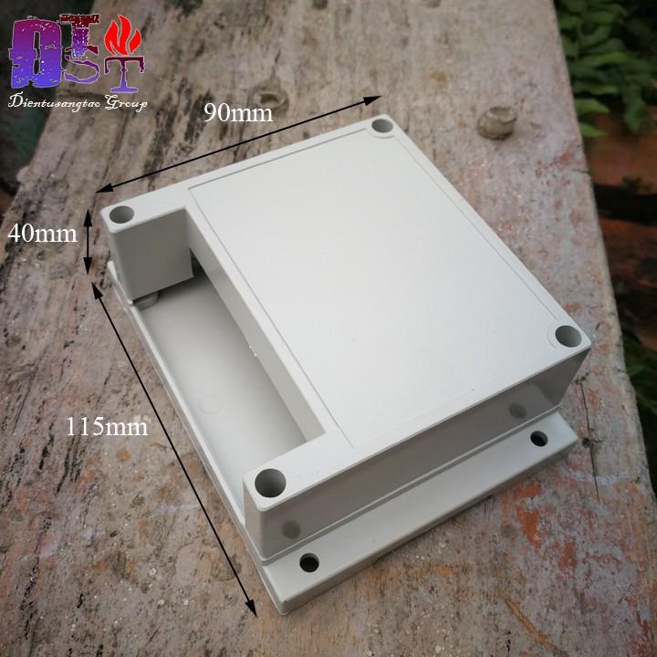 Hộp nhựa PLC 115x90x40mm 1 Đầu