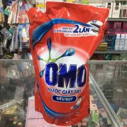 Nước giặt tay OMO siêu bọt 1.7 lít (1.8kg)