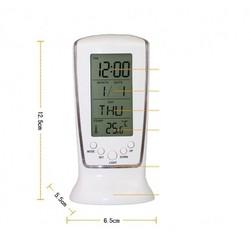 [Miễn phí ship] Đồng hồ để bàn báo thức có nhiệt kế đo nhiệt độ