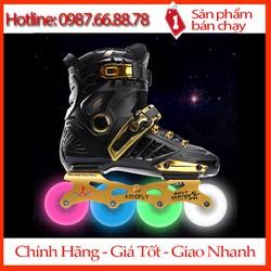 Giày patin cao cấp - patin bánh PU phát sáng