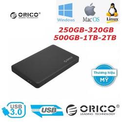 Ổ cứng di động ORICO 250GB/320GB/500GB/1TB/2TB – USB 3.0