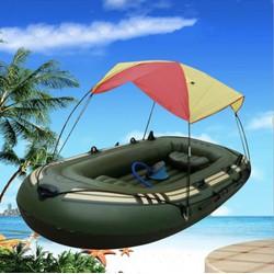 Thuyền Phao bơm hơi 3 người WILDUSA 120x230cm + Full Phụ Kiện - Home and Garden