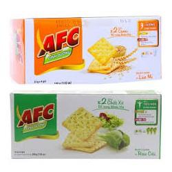 Bánh mặn dinh dưỡng AFC vị Rau Củ 100g