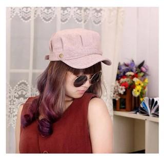 Mũ Beret bát giác nữ phong cách Retro Hàn Quốc Mũ xuân hè. - mubatgiac thumbnail