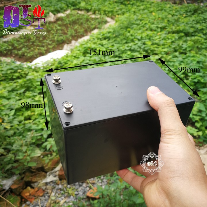Hộp nhựa đựng pin Lithium 18650