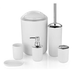 Bộ 6 món dụng cụ vệ sinh phòng tắm European-Style- Home and Garden