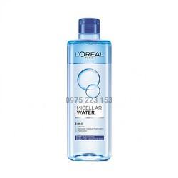 Nước Tẩy Trang Sạch Sâu L'Oreal Micellar Water Deep Cleansing 400Ml