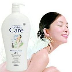 Sữa Tắm Con Dê White Care 1200ml 9X - Chính Hãng
