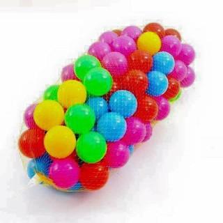 [Hỗ trợ ship] Túi 100 quả bóng nhựa cho bé - t100bn thumbnail
