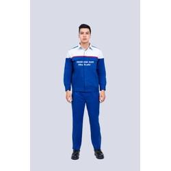 Giảm giá - Quần áo công nhân kaki 2721(65/35) - phối màu thời trang