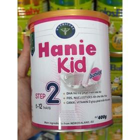 Sữa bột Hanie Kid 2 _Lon 400g_Date 01/2022 - Hanie Kid 2_400g