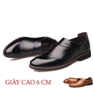 Giày lười nam tăng chiều cao 6cm-GC90 - gc90 thumbnail