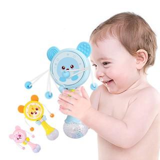lục lạc cầm tay đồ chơi trẻ em có nhạc 2 trong 1 - lutlac509 thumbnail