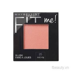 Phấn má hồng Maybelline Fit Me 5 g