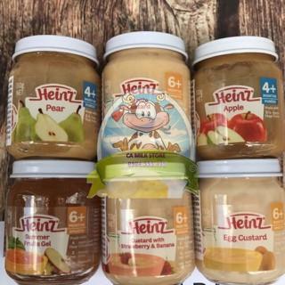 Váng sữa trái cây heinz hũ 110gr cho trẻ ăn dặm từ 4 tháng và 6 tháng - VSHEINZ110GR thumbnail