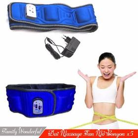 Đai Massage đánh tan, giảm mỡ bụng X5 - Đai Massage giảm mỡ bụng