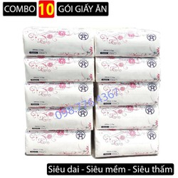 [Miễn phí ship] Combo 10 gói giấy rút chất liệu siêu dai