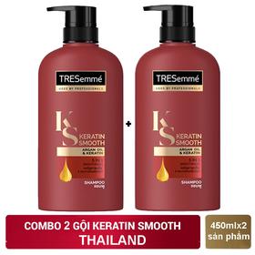 Combo 2 chai Dầu gội TRESEMME Thailand 450ml/chai - 2 GỘI TRESEMME ĐỎ