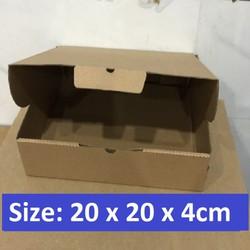 40 HỘP CARTON PIZZA SIZE 20x20x4cm