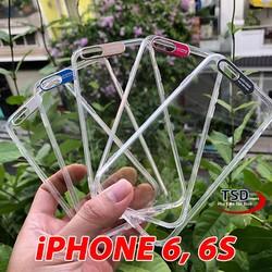 Ốp Lưng iPhone 6 / 6S Viền Nhôm Bảo Vệ Camera Siêu Đẹp