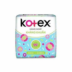Băng vệ sinh Kotex hàng ngày kháng khuẩn