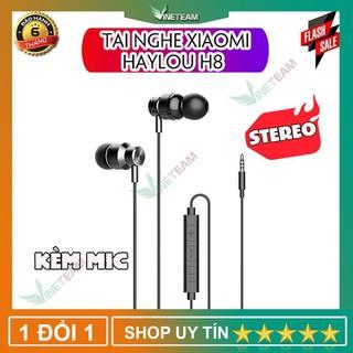 Tai nghe nhét tai có dây Xiaomi Haylou H8 giảm ồn giắc cắm 3.5mm - DC4030 thumbnail